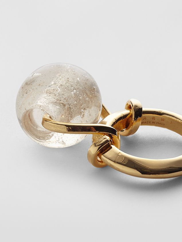 Marni Ring in brass and glass Woman - 4