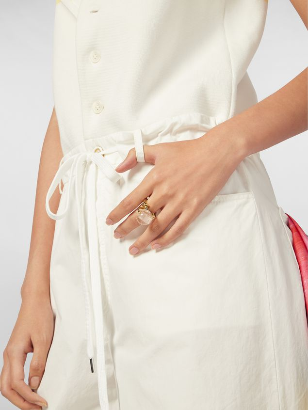 Marni Ring in brass and glass Woman - 2
