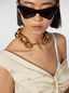 Marni NATURE necklace in gold-tone metal chain  Woman - 2