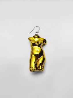Marni Statue POP hook earring in metal  Woman