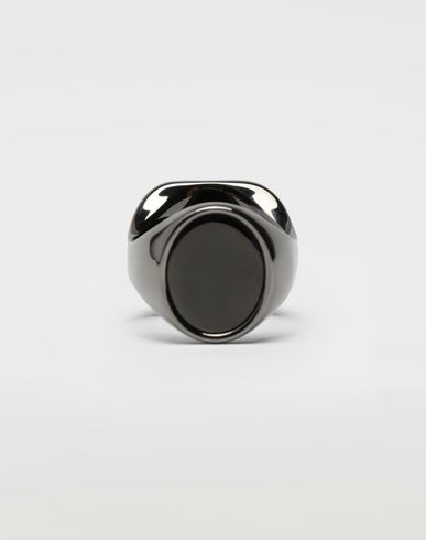 MAISON MARGIELA Chevalier black ring Ring [*** pickupInStoreShippingNotGuaranteed_info ***] f