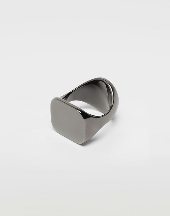 MAISON MARGIELA Chevalier black ring Ring [*** pickupInStoreShippingNotGuaranteed_info ***] d