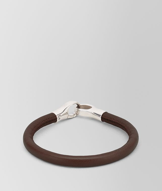 BOTTEGA VENETA BRACELET IN NAPPA AND STERLING SILVER Bracelet [*** pickupInStoreShippingNotGuaranteed_info ***] fp