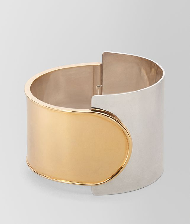 BOTTEGA VENETA BRACELET IN STERLING SILVER Bracelet Woman fp