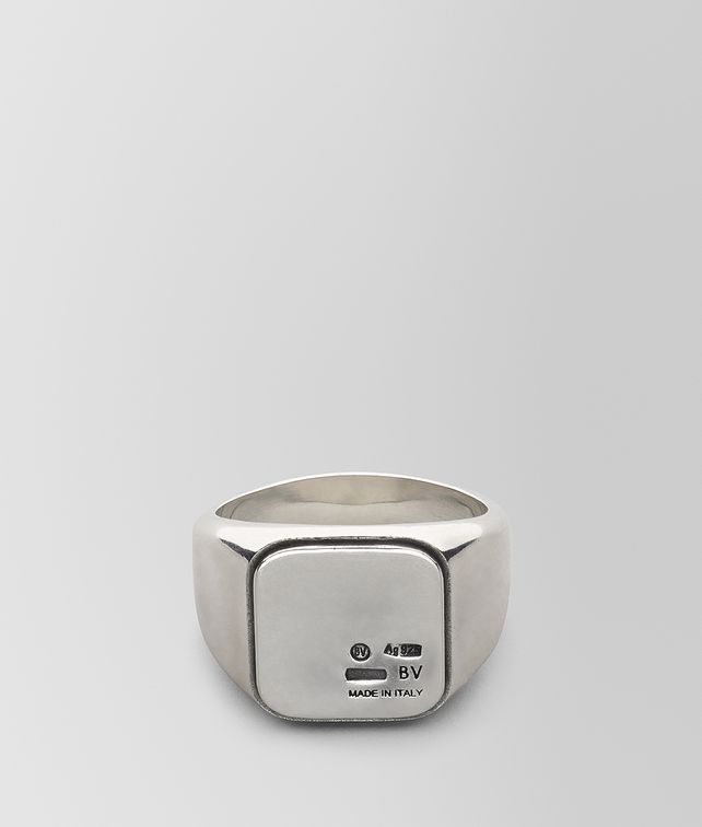 BOTTEGA VENETA RING IN STERLING SILVER Ring Man fp