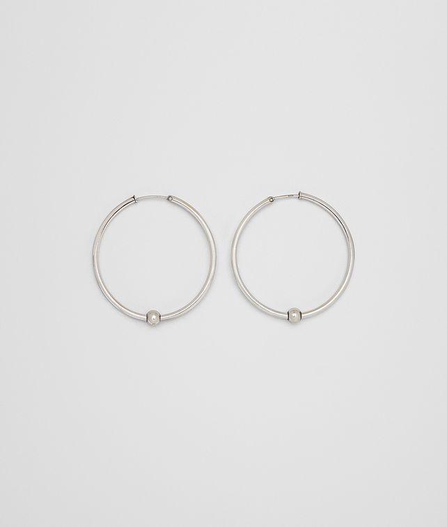 BOTTEGA VENETA EARRING IN STERLING SILVER Earrings Woman fp