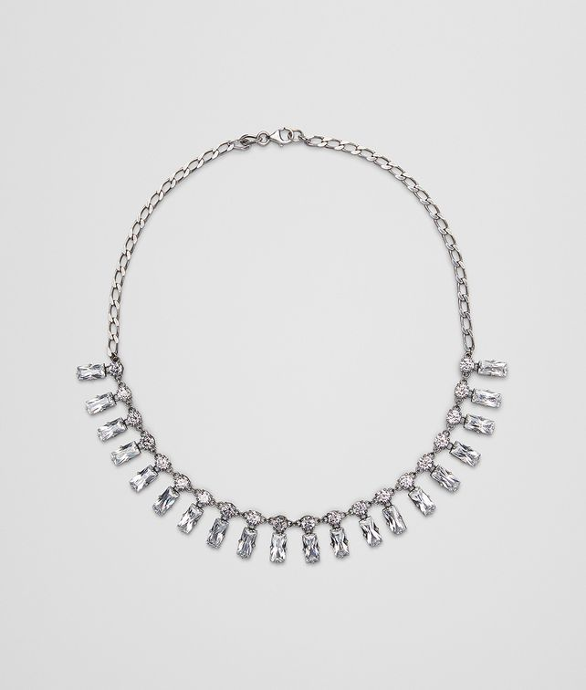 BOTTEGA VENETA NECKLACE IN ZIRCONIA AND STERLING SILVER Necklace [*** pickupInStoreShipping_info ***] fp