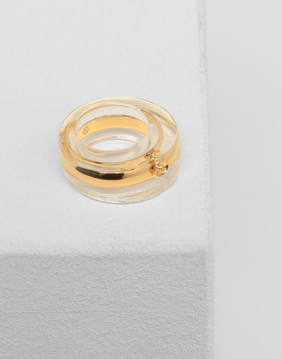 MM6 MAISON MARGIELA Plexi combo ring Ring [*** pickupInStoreShipping_info ***] d