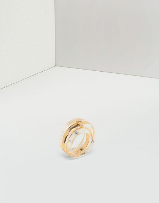 MM6 MAISON MARGIELA Plexi combo ring Ring [*** pickupInStoreShipping_info ***] r