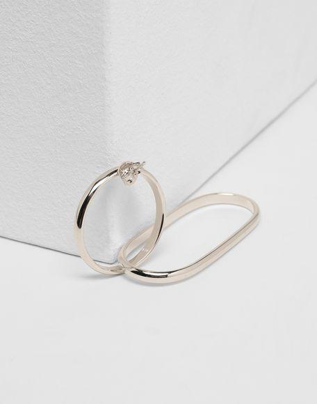 MM6 MAISON MARGIELA Double-hoop earring Earrings Woman r