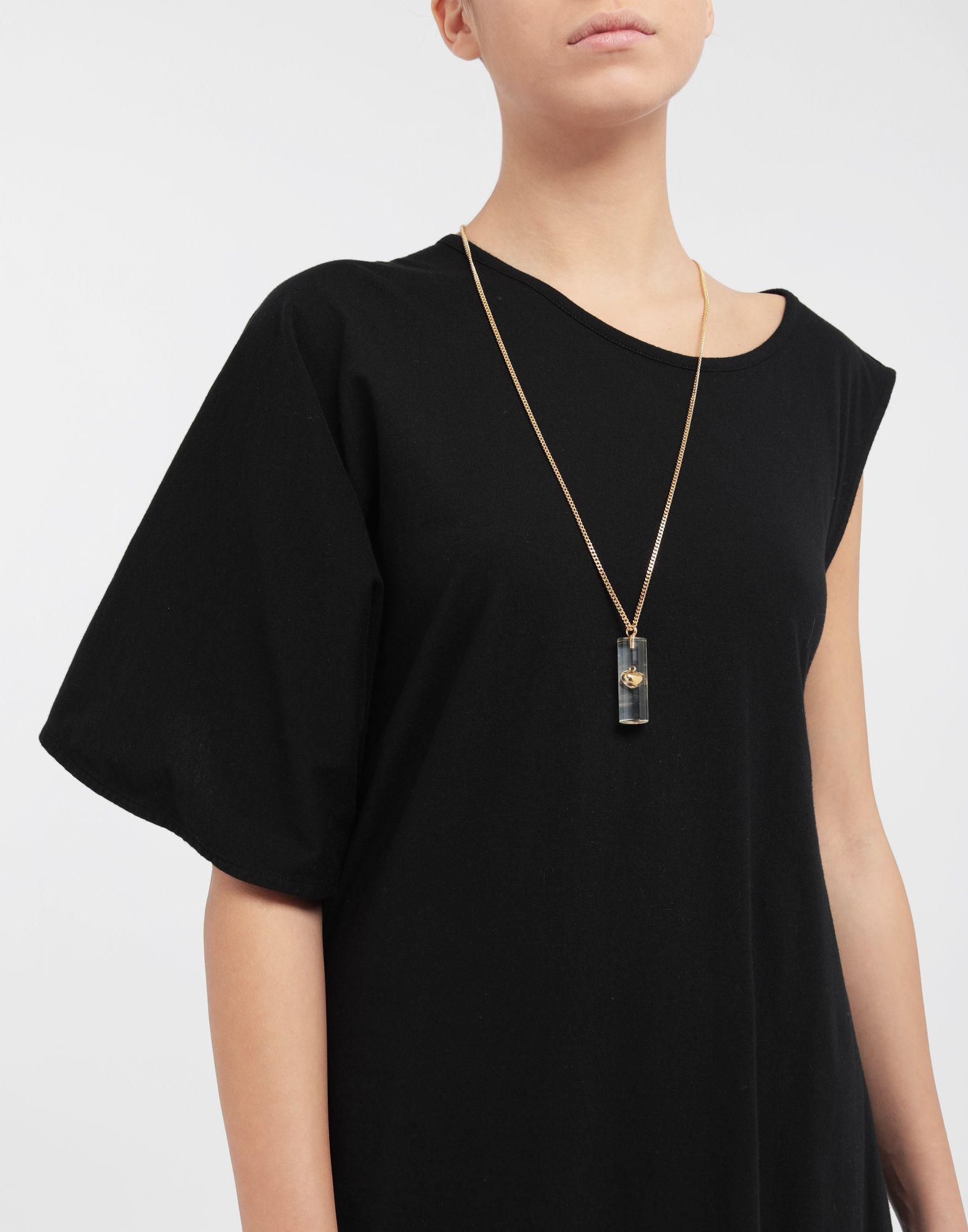 MM6 MAISON MARGIELA Heart plexi combo necklace Necklace Woman b