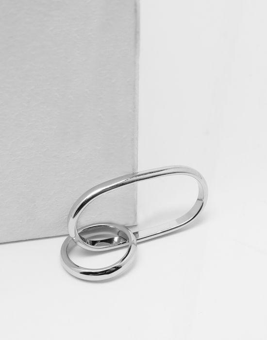MM6 MAISON MARGIELA Double-hoop ring Ring [*** pickupInStoreShipping_info ***] d