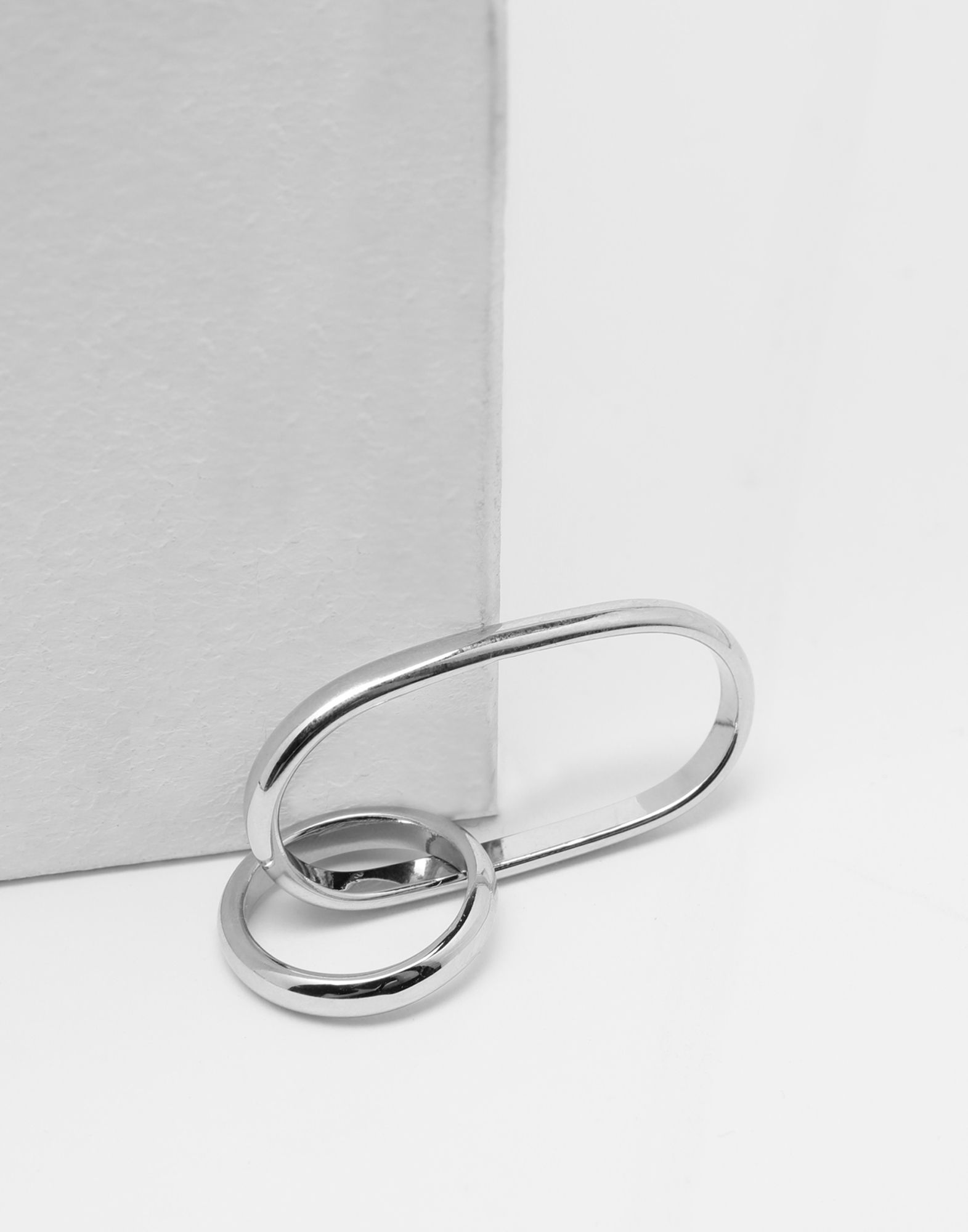 MM6 MAISON MARGIELA Double-hoop ring Ring Woman d