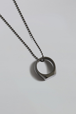 DSQUARED2 Backyard Punk Ring Necklace Necklace Man