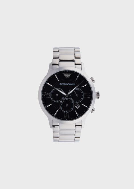 Man stainless steel cronograph