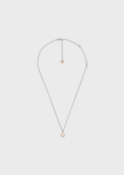 Woman sterling silver necklace
