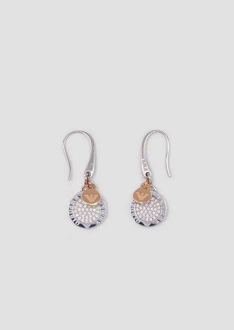 Woman sterling silver earrings