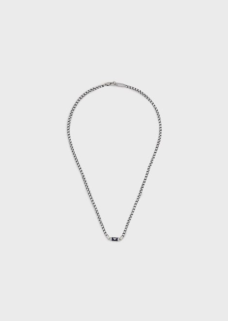 Man stainless steel necklace