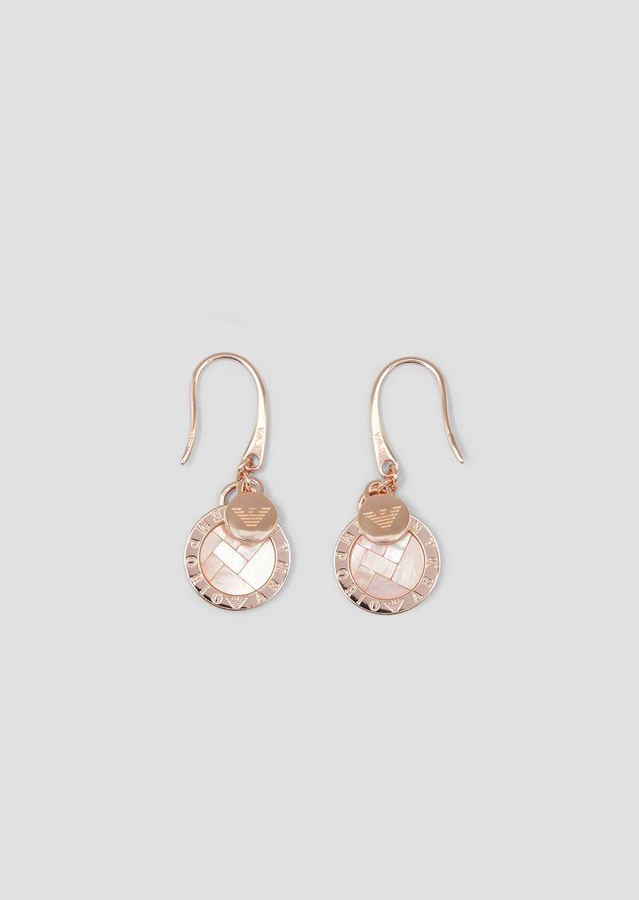 51225a793 Woman sterling silver earrings   Woman   Emporio Armani