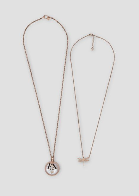 Woman stainless steel necklace