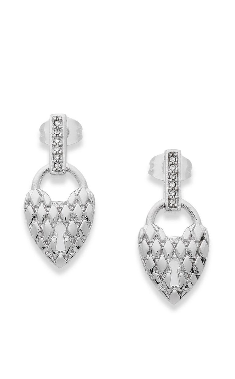 JUST CAVALLI Earrings with heart pendant Earrings Woman f