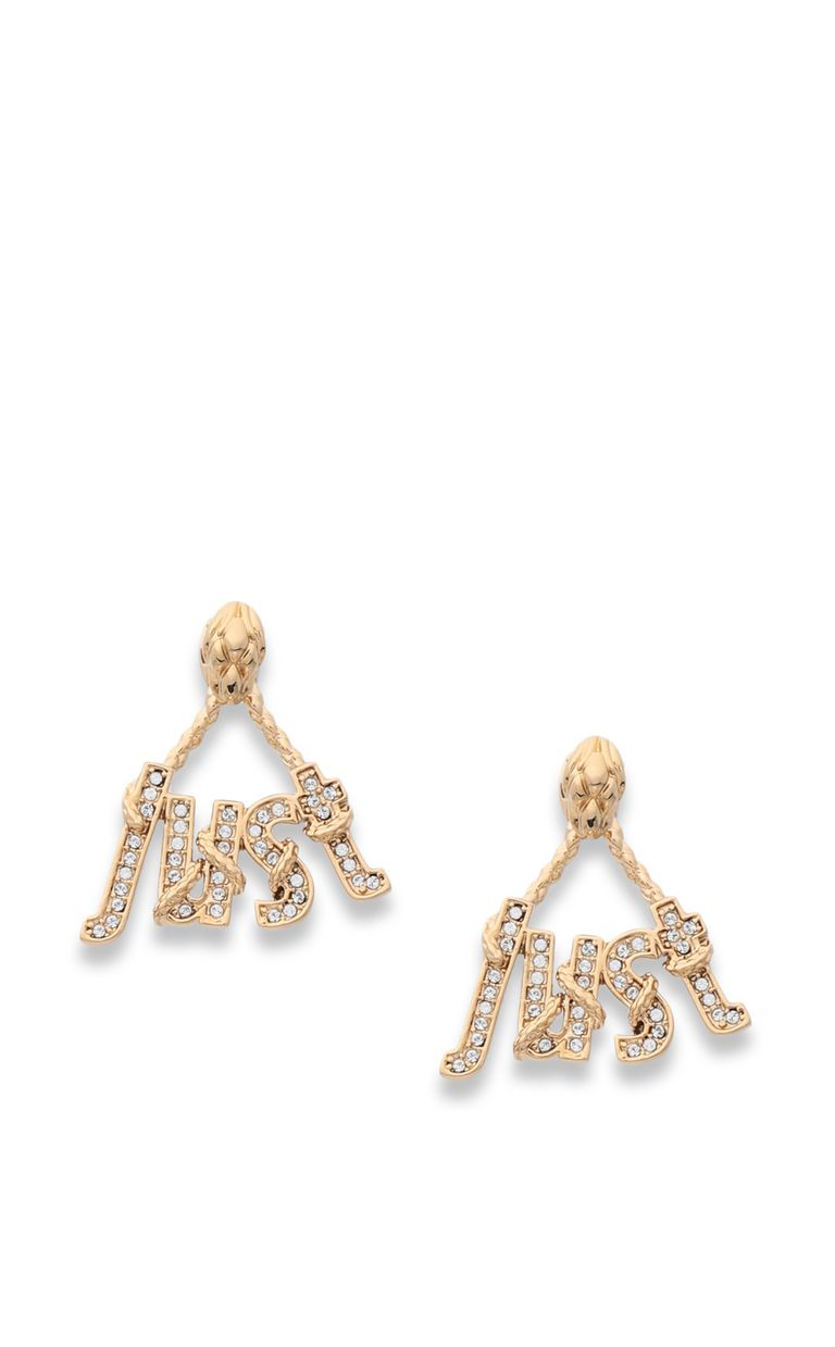 JUST CAVALLI Earrings with JUST logo Earrings Woman f