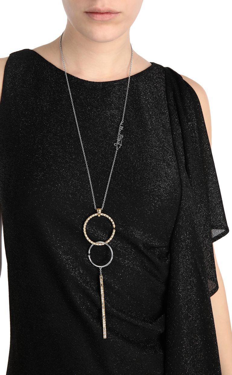 JUST CAVALLI Necklace with circular pendant Necklace Woman d
