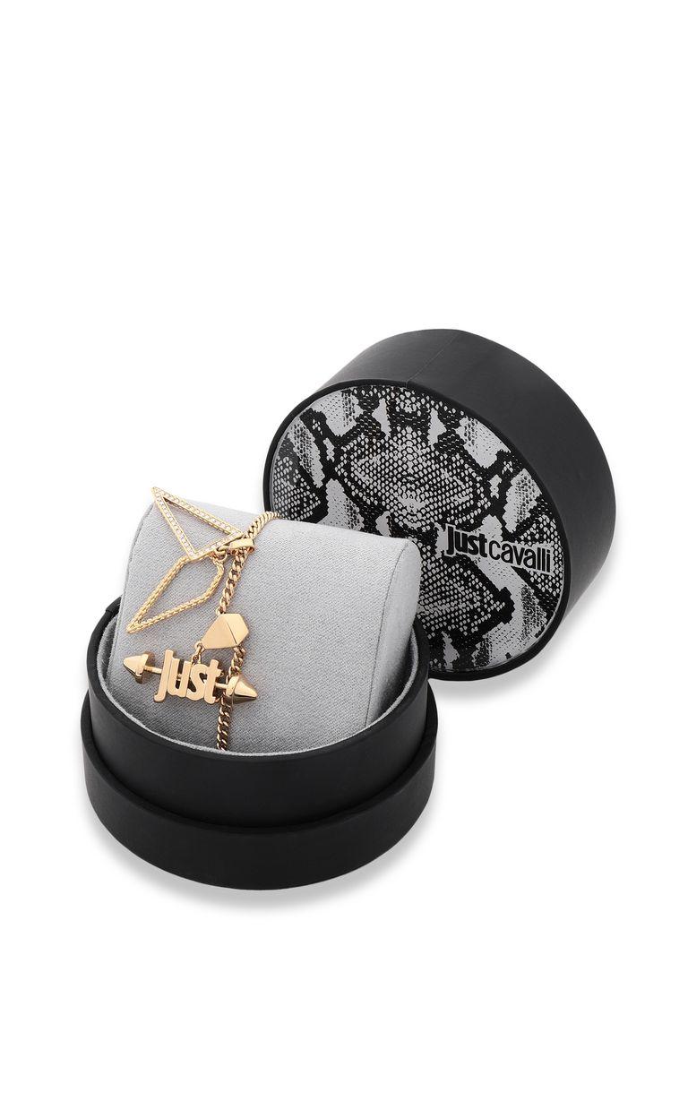 JUST CAVALLI Bracelet with JUST logo Bracelet Woman e