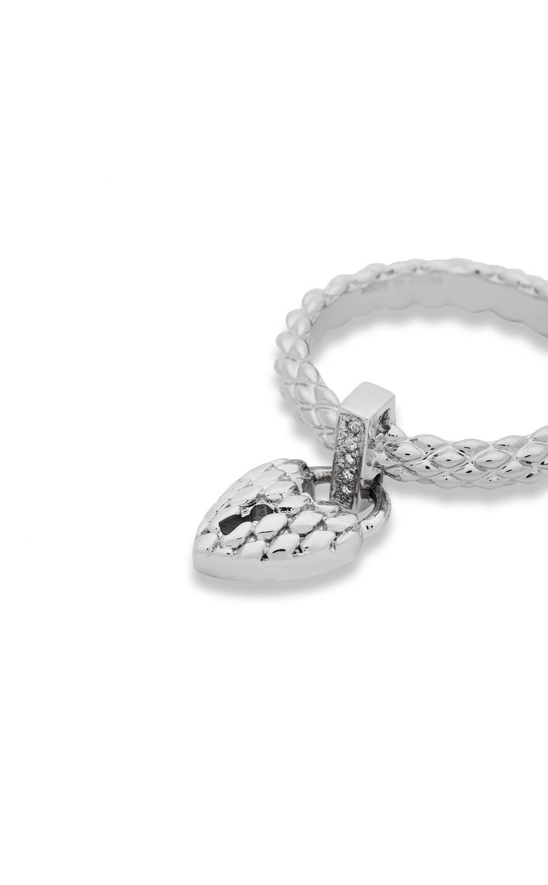 JUST CAVALLI Ring with heart pendant Ring Woman e