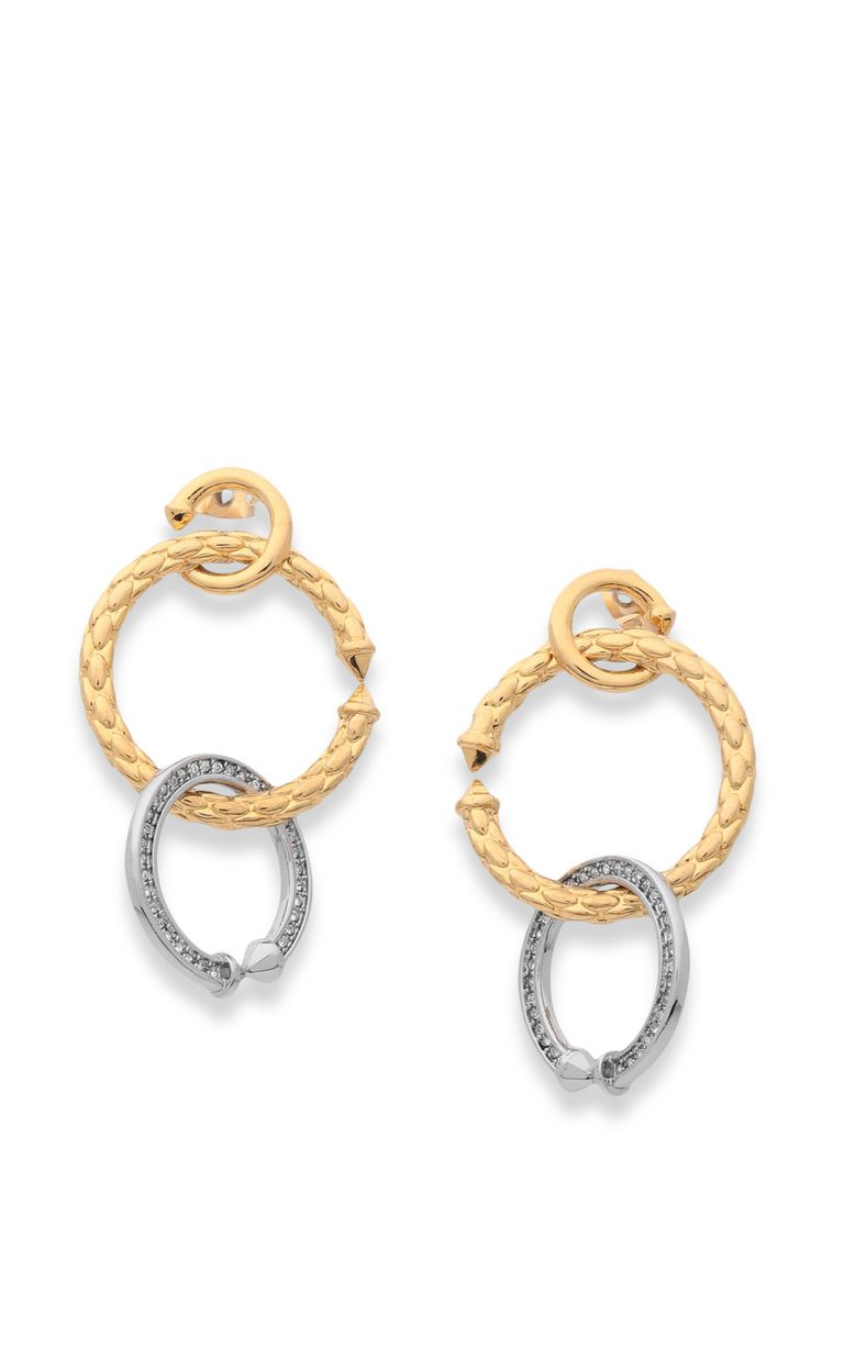 JUST CAVALLI Double-hoop earrings Earrings Woman f