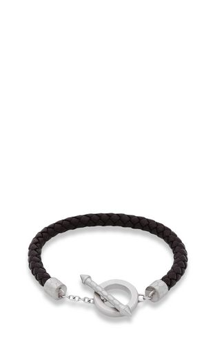 Bracelet in brown jute