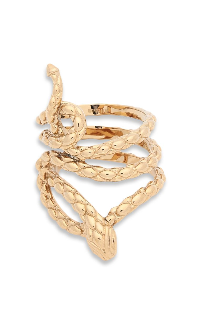 JUST CAVALLI Ring with stylised snake Ring Woman r