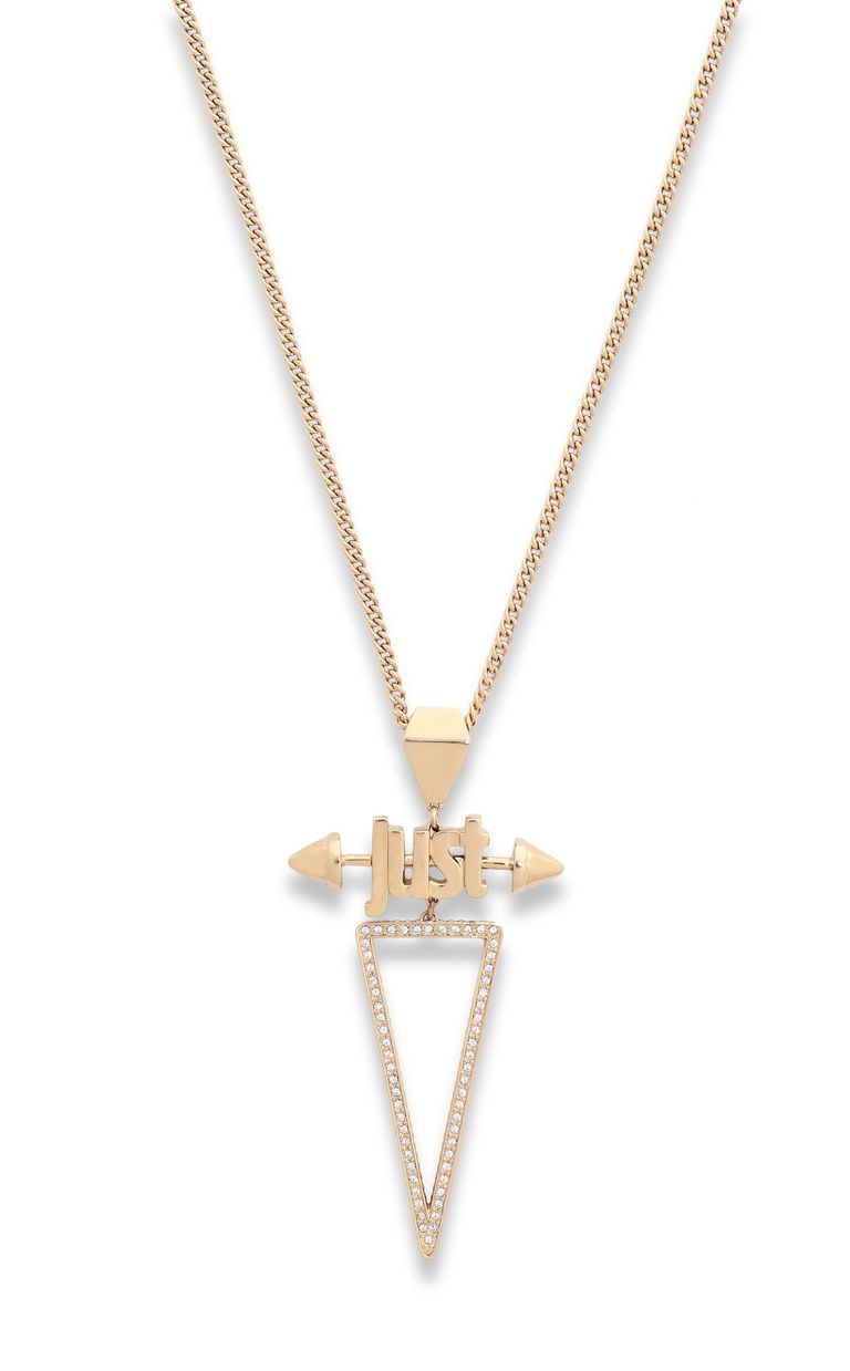 JUST CAVALLI Necklace with JUST logo Necklace Woman e