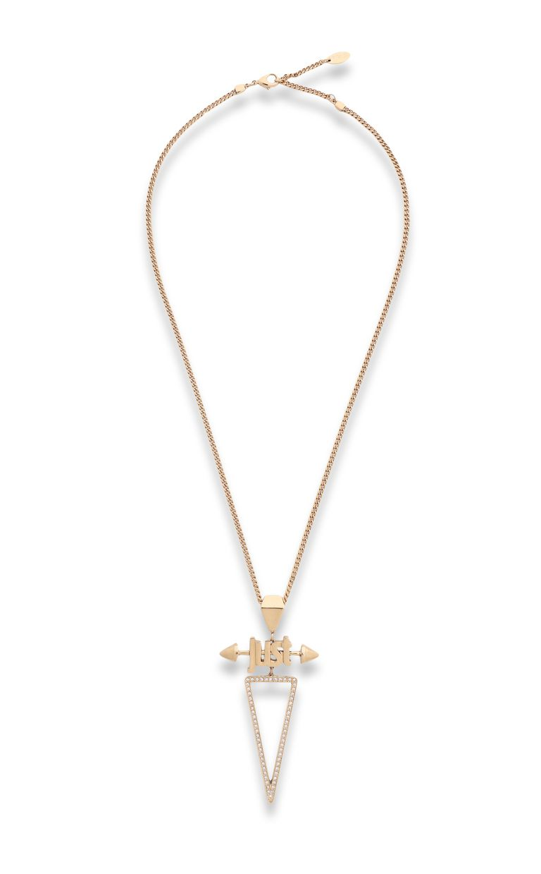 JUST CAVALLI Necklace with JUST logo Necklace Woman f