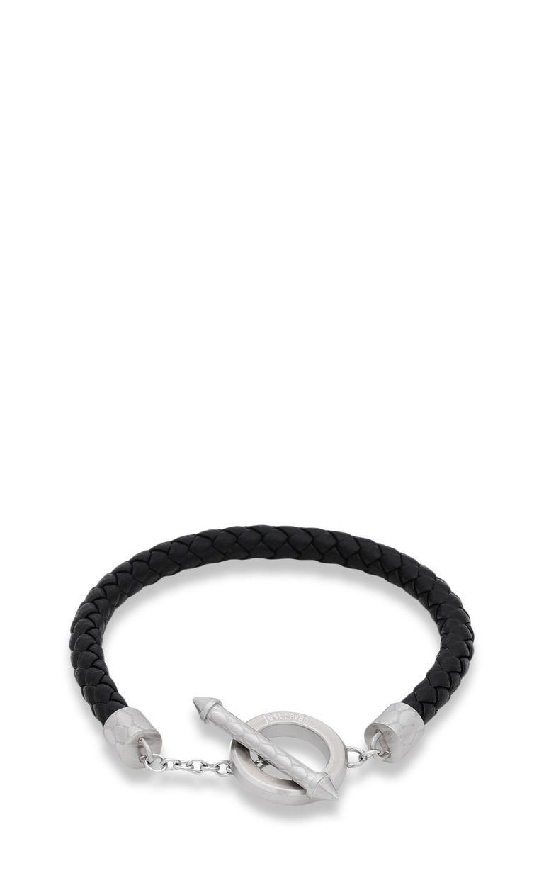 JUST CAVALLI Bracelet in black jute Bracelet Man f