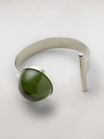 Marni MOD bracelet in metal and resin Woman f