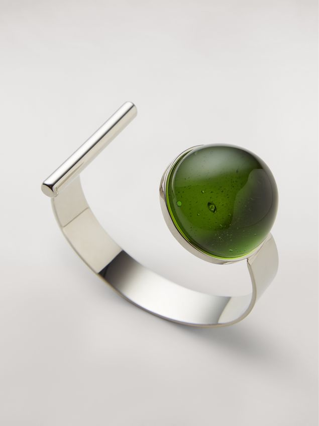 Marni MOD bracelet in metal and resin Woman - 3