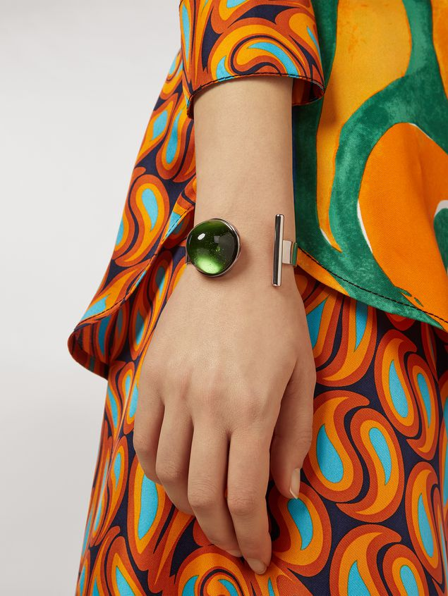 Marni MOD bracelet in metal and resin Woman - 2