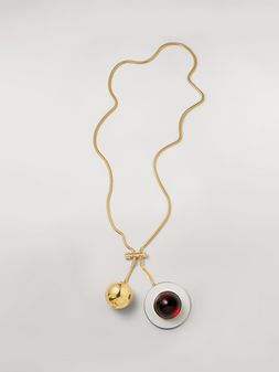 Marni MOD necklace in metal and resin Woman