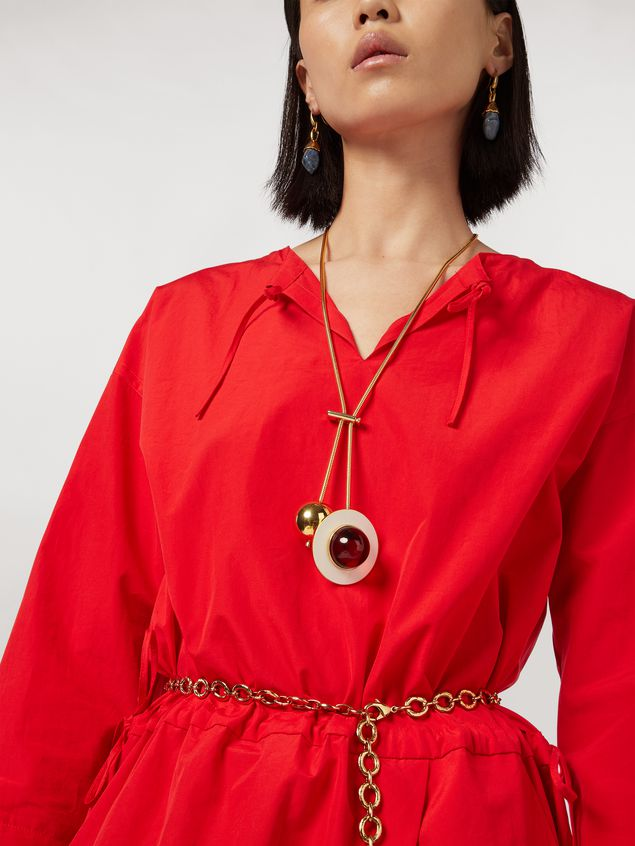 Marni MOD necklace in metal and resin Woman - 2