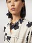 Marni Short FLORA necklace in strass and fabric  Woman - 2