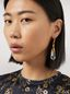 Marni Transparent STONES hook earrings in metal and stone Woman - 2