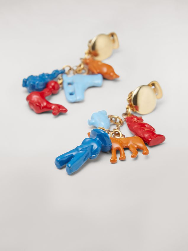 Marni TOYS metal clip earrings  Woman - 3