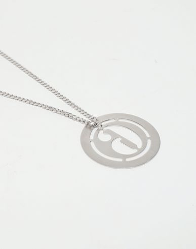 JEWELLERY Logo necklace Silver