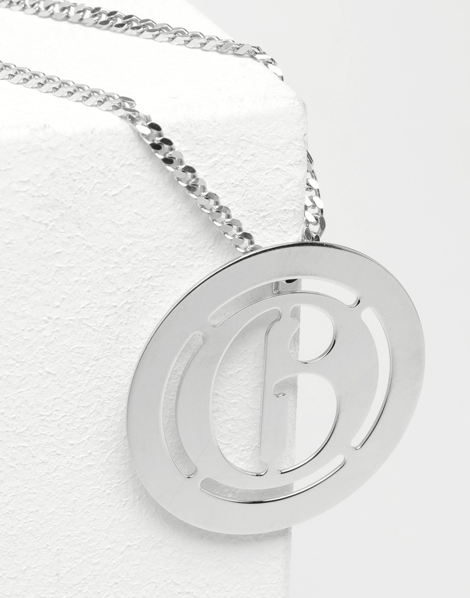 MM6 MAISON MARGIELA Logo necklace Necklace Woman a