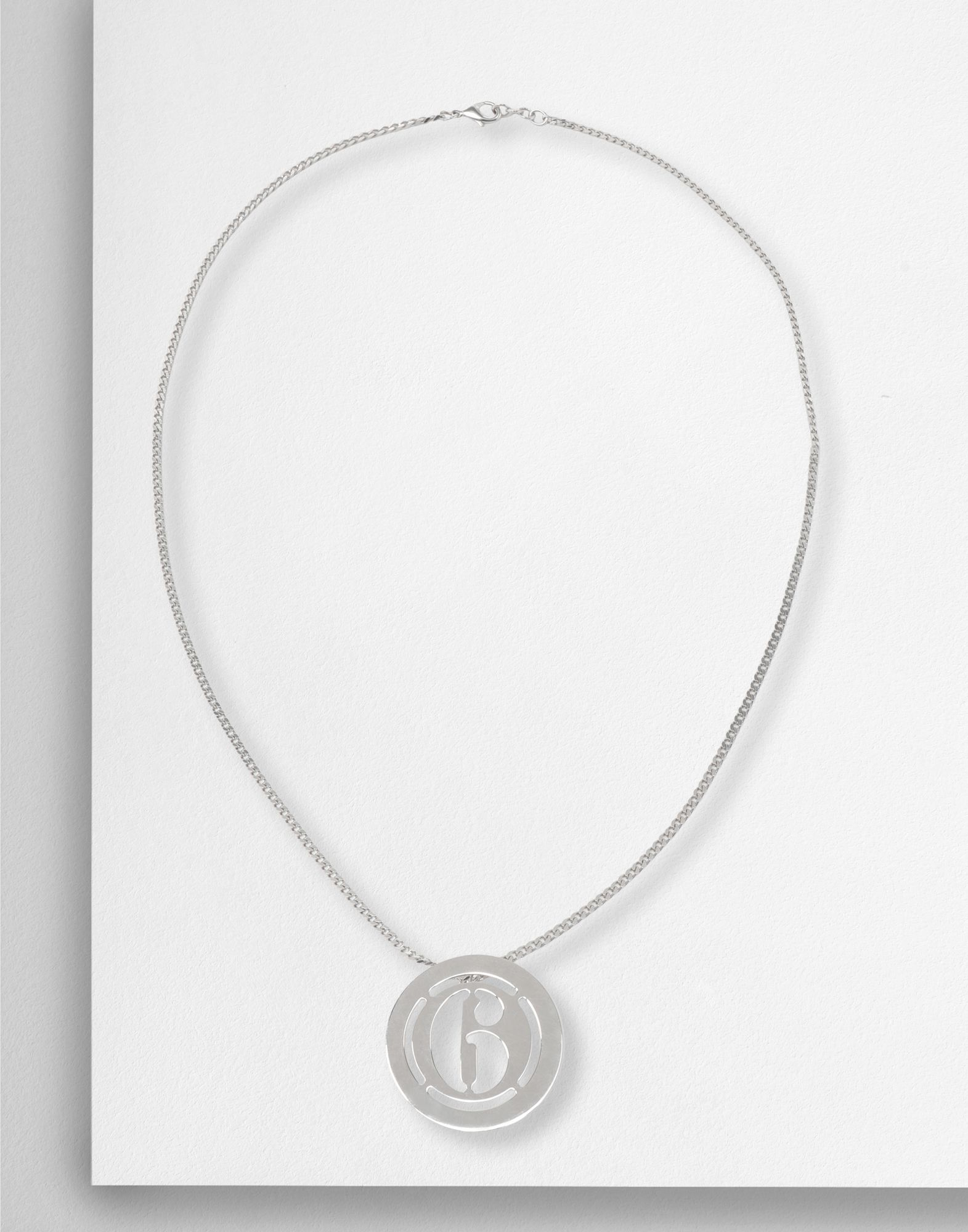 MM6 MAISON MARGIELA Logo necklace Necklace Woman f