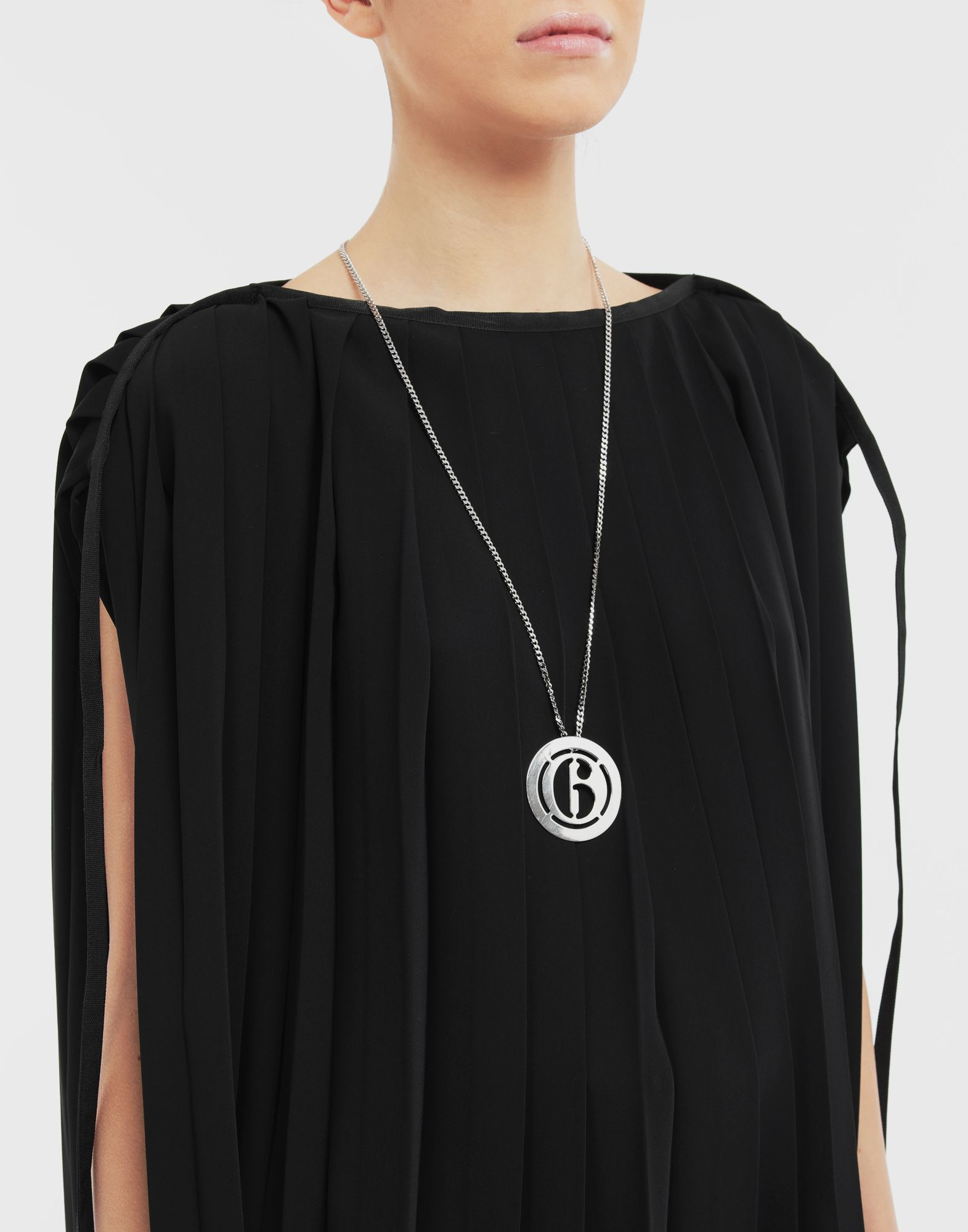 MM6 MAISON MARGIELA Logo necklace Necklace Woman r