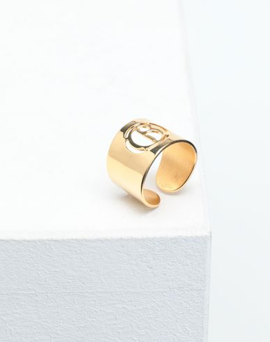 JEWELLERY Logo ring Gold