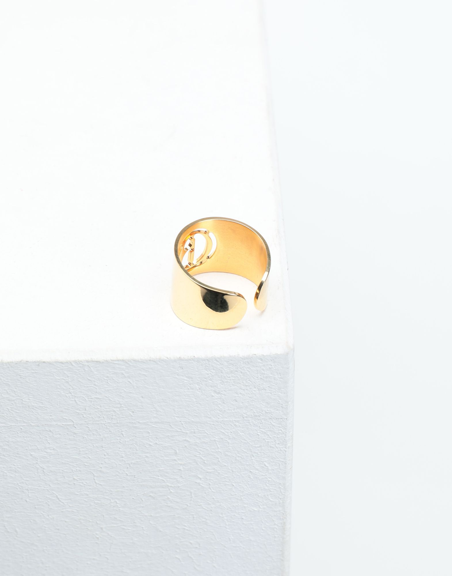 MM6 MAISON MARGIELA Logo ring Ring Woman a