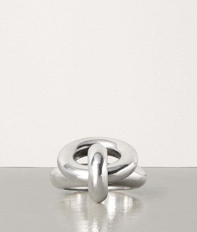 BOTTEGA VENETA RING IN STERLING SILVER Ring [*** pickupInStoreShipping_info ***] fp